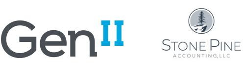 Gen II Stone Pine Accounting logos