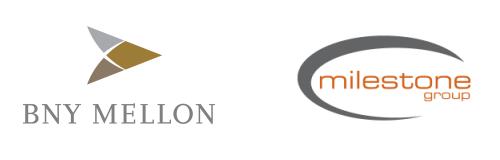 bny mellon milestone group logos