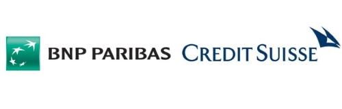 BNP Paribas and Credit Suisse's Logos