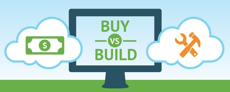 Build Vs Buy at Financial Services Companies