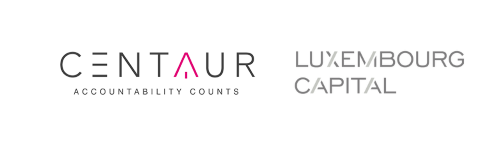 Centaur Fund Services and Luxembourg Capital Partners S.A. Logos