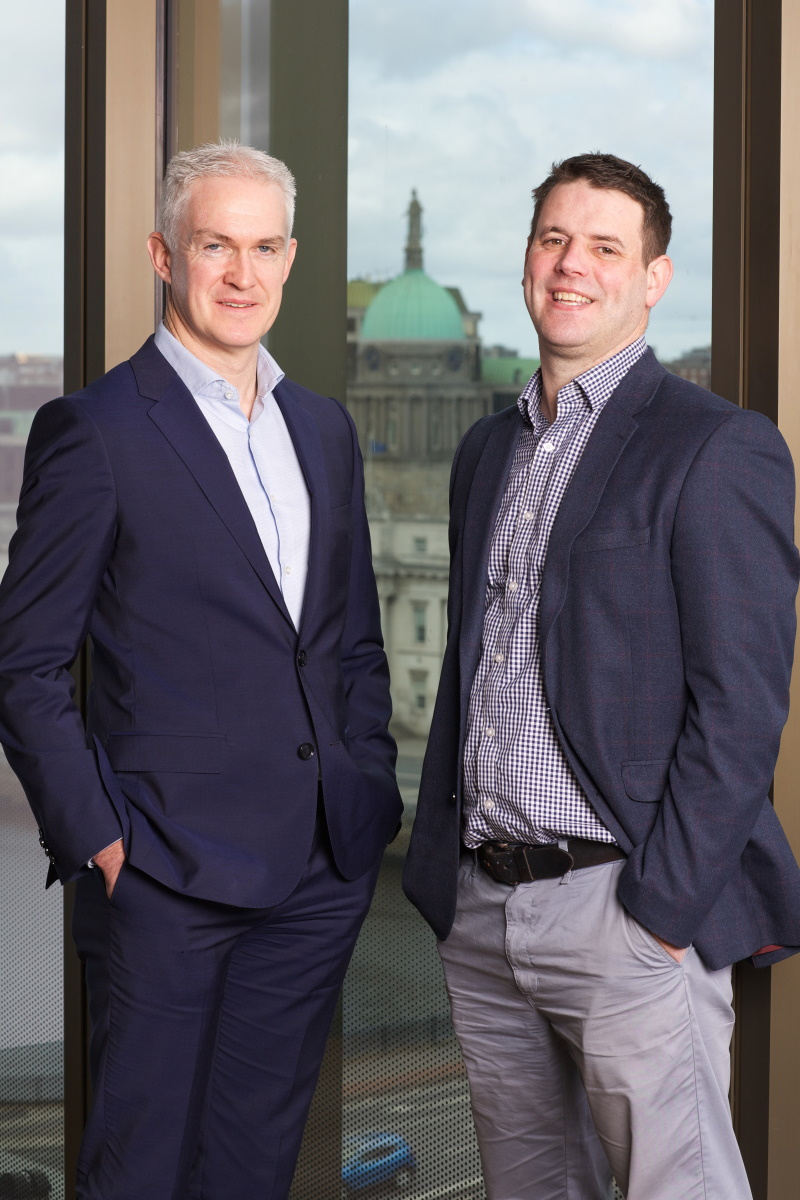 Colin Feely, Partner and Head of Financial Services Audit Grant Thornton and Des O'Donohoe, Managing Director Fund Recs