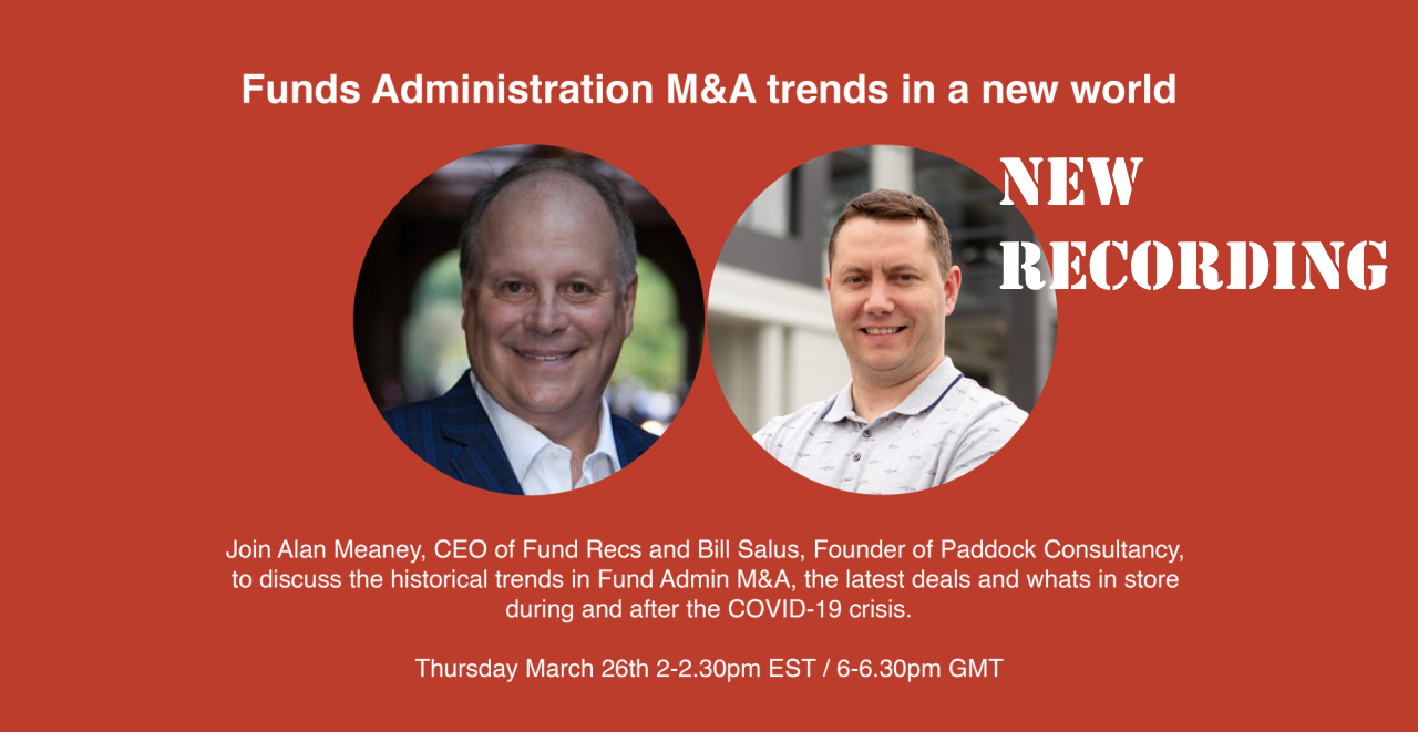 Fund Administration M&A trends in a new world