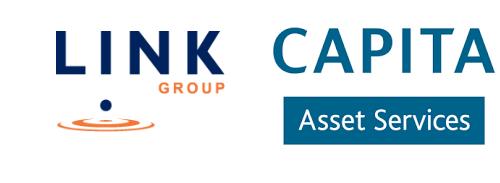 Link Group and Capita Asset Services Logos