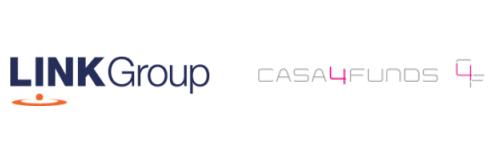 Link Group Casa4Funds Logos
