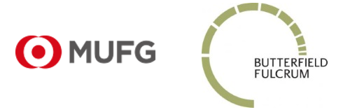 MUFG and Butterfield Fulcrum Group Logos