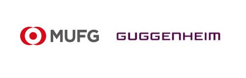 MUFG and Guggenheim Logos