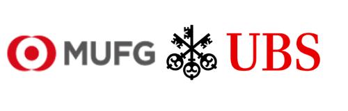 MUFG and UBS Logos