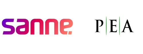 SANNE & PEA Logos