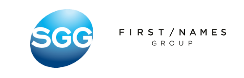 SGG Group and First Names Group Logos