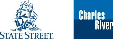 Statestreer and Charles River Development Logos