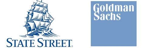 State Street and Goldman Sachs Logos