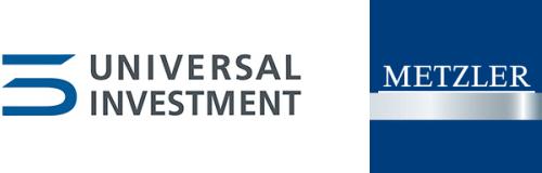 Universal-Investments and Metzler Ireland Logos