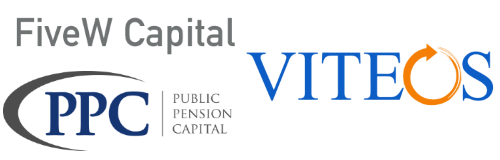 PPC, FiveW Capital and Viteos Logos
