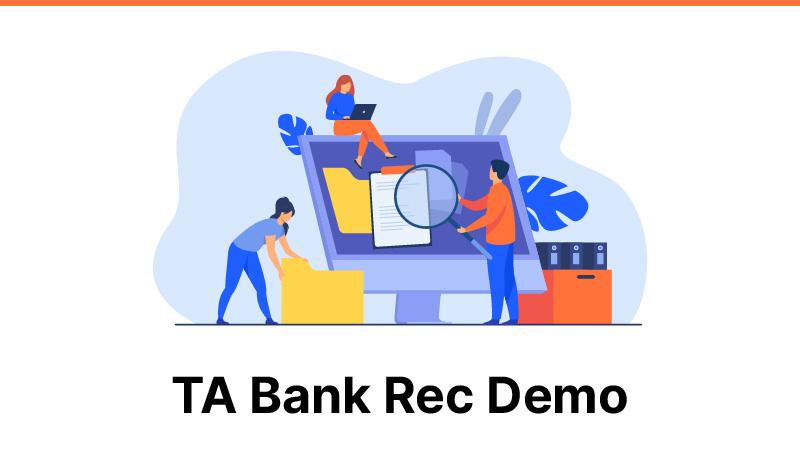 TA Bank Rec Demo